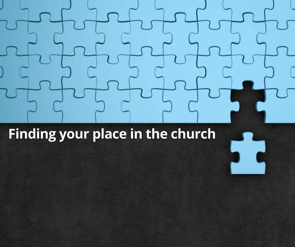 Finding Your Place in the Church